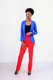 Doublyn Awuor model. Photoshoot of model Doublyn Awuor demonstrating Fashion Modeling.Fashion Modeling Photo #218681