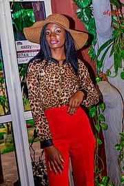 Doublyn Awuor model. Photoshoot of model Doublyn Awuor demonstrating Fashion Modeling.Fashion Modeling Photo #219889