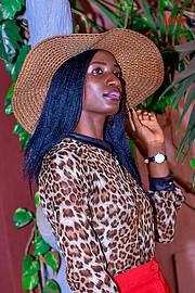 Doublyn Awuor model. Photoshoot of model Doublyn Awuor demonstrating Fashion Modeling.Fashion Modeling Photo #219890