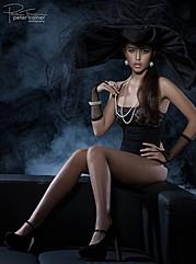 Ebony Wall model. Photoshoot of model Ebony Wall demonstrating Fashion Modeling.Fashion Modeling Photo #78481