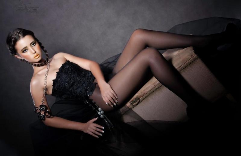 Ebony Wall model. Photoshoot of model Ebony Wall demonstrating Fashion Modeling.Fashion Modeling Photo #78489