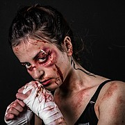 Efstathia Andreou makeup artist (μακιγιέρ). Work by makeup artist Efstathia Andreou demonstrating Special Fx Makeup.Horror Film SFXSpecial Fx Makeup Photo #186752