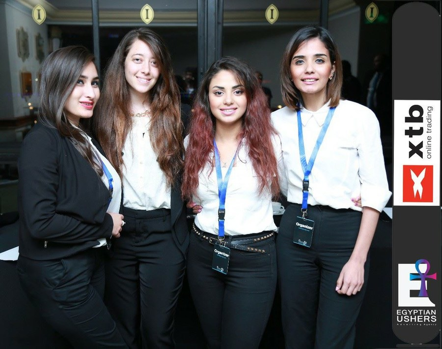 Egyptian Ushers Cairo Modeling Agency