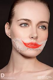 Ekaterina Guseva makeup artist (Екатерина Гусева визажист). Work by makeup artist Ekaterina Guseva demonstrating Creative Makeup.Portrait Photography,Creative Makeup Photo #57688