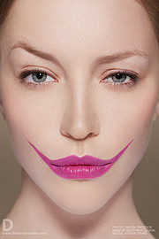 Ekaterina Guseva makeup artist (Екатерина Гусева визажист). Work by makeup artist Ekaterina Guseva demonstrating Creative Makeup.Portrait Photography,Creative Makeup Photo #57690
