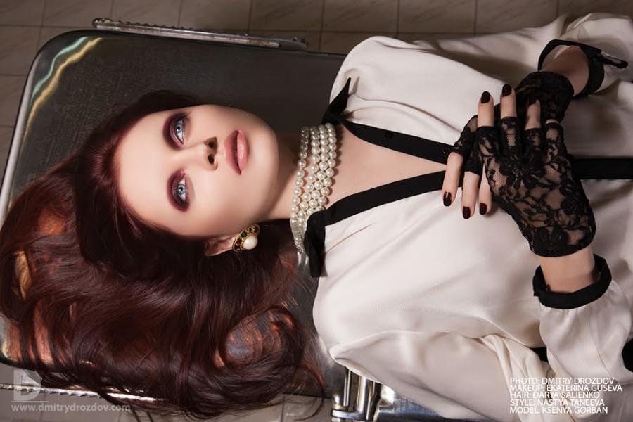 Ekaterina Guseva makeup artist (Екатерина Гусева визажист). Work by makeup artist Ekaterina Guseva demonstrating Beauty Makeup.Fashion Photography,Beauty Makeup Photo #57694