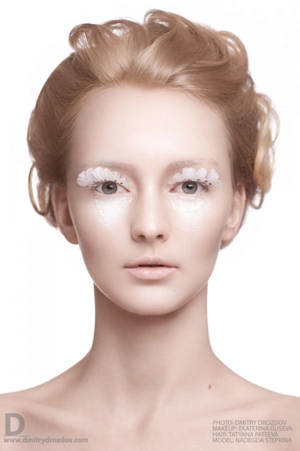Ekaterina Guseva makeup artist (Екатерина Гусева визажист). Work by makeup artist Ekaterina Guseva demonstrating Creative Makeup.Eyelash ExtensionsPortrait Photography,Creative Makeup Photo #57698
