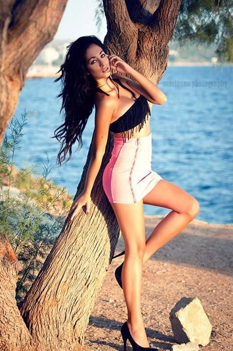 Eleftheria Sorwtou model (Ελευθερία Σορώτου μοντέλο). Photoshoot of model Eleftheria Sorwtou demonstrating Fashion Modeling.Fashion Modeling Photo #127335