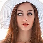 Eleftheria Sorwtou model (Ελευθερία Σορώτου μοντέλο). Photoshoot of model Eleftheria Sorwtou demonstrating Face Modeling.Face Modeling Photo #99798