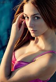 Eleftheria Sorwtou model (Ελευθερία Σορώτου μοντέλο). Photoshoot of model Eleftheria Sorwtou demonstrating Face Modeling.Face Modeling Photo #99805