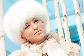 Elena Kollarova model. Photoshoot of model Elena Kollarova demonstrating Face Modeling.Face Modeling Photo #122703