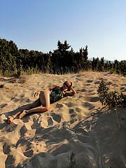 Elena Lucasciuc model (μοντέλο). Photoshoot of model Elena Lucasciuc demonstrating Body Modeling.Body Modeling Photo #225894