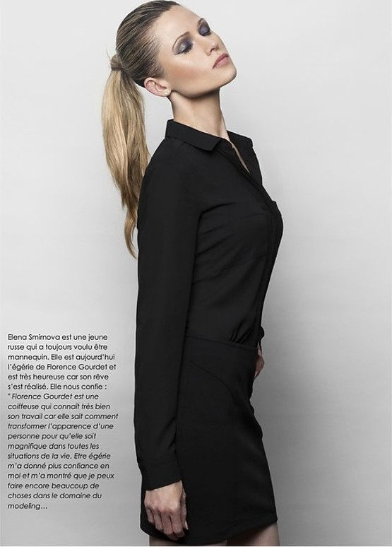 Elena Smirnova model (modèle). Photoshoot of model Elena Smirnova demonstrating Fashion Modeling.Fashion Modeling Photo #193875