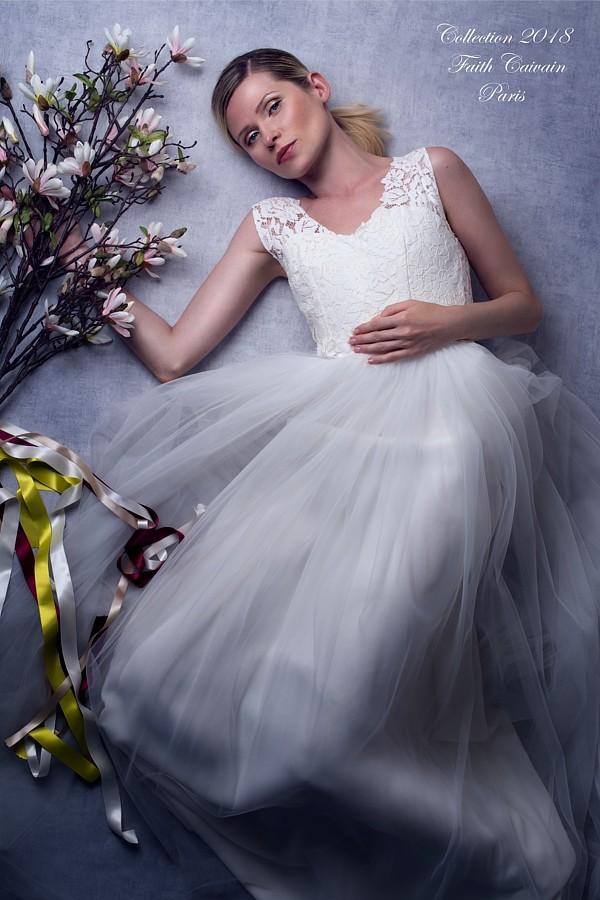 Elena Smirnova model (modèle). Photoshoot of model Elena Smirnova demonstrating Fashion Modeling.Wedding GownFashion Modeling Photo #193881