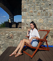 Eleni Kaldeli (Ελένη Καλδέλη) model. Photoshoot of model Eleni Kaldeli demonstrating Fashion Modeling.Fashion Modeling Photo #227981
