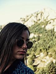 Eleni Palia model (Ελένη Παληά μοντέλο). Photoshoot of model Eleni Palia demonstrating Face Modeling.Face Modeling Photo #196895