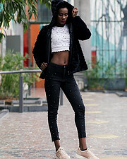 Eleshia Ais model. Photoshoot of model Eleshia Ais demonstrating Fashion Modeling.Fashion Modeling Photo #206022