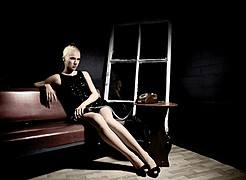 Elina Leskinen model. Photoshoot of model Elina Leskinen demonstrating Fashion Modeling.Fashion Modeling Photo #97089