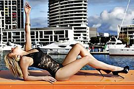 Elise Natalie Duncan model. Photoshoot of model Elise Natalie Duncan demonstrating Body Modeling.Body Modeling Photo #78516