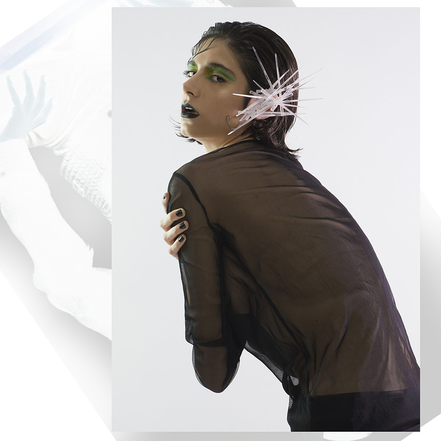 Elissavet Megiani makeup hair artist. Work by makeup artist Elissavet Megiani demonstrating Editorial Makeup in a photoshoot by Dimitris Stefanidis.Fashion Editorial for KODD MagazinePhotographer: Dimitris StefanidisStylist Katerina KalliontziMakeu