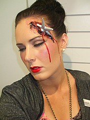 Elizabeth Kenna makeup artist. Work by makeup artist Elizabeth Kenna demonstrating Special Fx Makeup.Horror Film SFXSpecial Fx Makeup Photo #68610