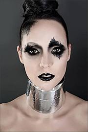 Elizabeth Mcleod makeup artist & hair stylist. Work by makeup artist Elizabeth Mcleod demonstrating Creative Makeup.Creative Makeup Photo #81846