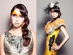 Elizabeth Mcleod makeup artist & hair stylist. Work by makeup artist Elizabeth Mcleod demonstrating Creative Makeup.Creative Makeup Photo #81849