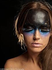 Elizabeth Mcleod makeup artist & hair stylist. Work by makeup artist Elizabeth Mcleod demonstrating Creative Makeup.Creative Makeup Photo #81850