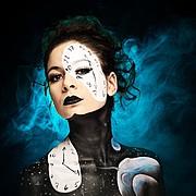 Elizabeth Mcleod makeup artist & hair stylist. Work by makeup artist Elizabeth Mcleod demonstrating Creative Makeup.Creative Makeup Photo #81852