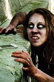 Elizabeth Mcleod makeup artist & hair stylist. Work by makeup artist Elizabeth Mcleod demonstrating Special Fx Makeup.Horror Film SFXSpecial Fx Makeup Photo #81877