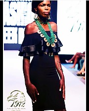 Elizabeth Njoga model. Photoshoot of model Elizabeth Njoga demonstrating Runway Modeling.Runway Modeling Photo #203199