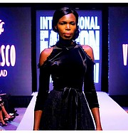Elizabeth Njoga model. Photoshoot of model Elizabeth Njoga demonstrating Runway Modeling.Runway Modeling Photo #203200