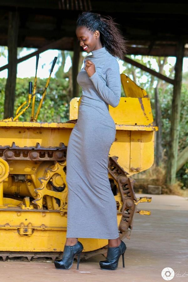 Elizabeth Njugi model. Photoshoot of model Elizabeth Njugi demonstrating Fashion Modeling.Photo credits by Amu Kay photographyMagazine CoverFashion Modeling Photo #177093