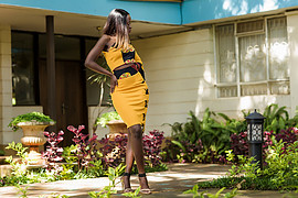 Elizabeth Njugi model. Photoshoot of model Elizabeth Njugi demonstrating Fashion Modeling.Fashion Modeling Photo #208875