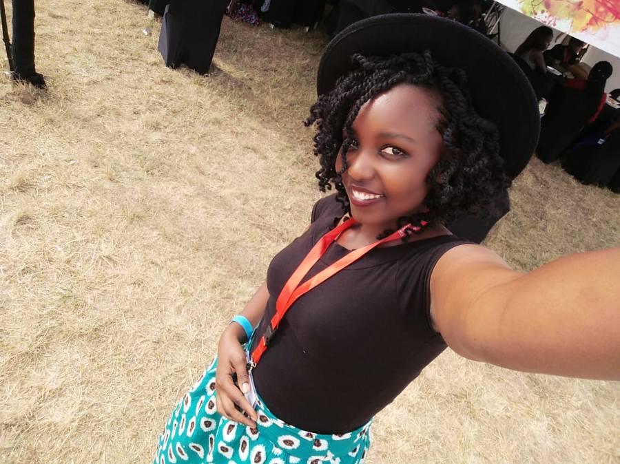 Elizabeth Wangari Model