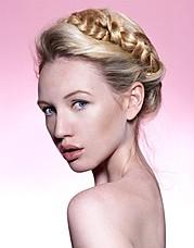 Elke Bonner model. Photoshoot of model Elke Bonner demonstrating Face Modeling.Face Modeling Photo #93398