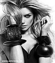 Elle Liberachi model. Elle Liberachi demonstrating Face Modeling, in a photoshoot by Jonas Jensen.Face Modeling Photo #109871