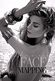 Elle Liberachi model. Photoshoot of model Elle Liberachi demonstrating Face Modeling.Face Modeling Photo #145194