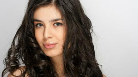 Elmira Abdrazakova model (Эльмира Абдразакова модель). Photoshoot of model Elmira Abdrazakova demonstrating Face Modeling.Face Modeling Photo #81976