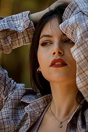 Elpida Chorianopoulou model (Ελπίδα Χωριανοπούλου μοντέλο). Photoshoot of model Elpida Chorianopoulou demonstrating Face Modeling.Face Modeling Photo #212866