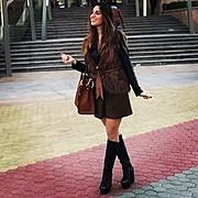 Elpida Diamanti model. Photoshoot of model Elpida Diamanti demonstrating Fashion Modeling.Fashion Modeling Photo #166042