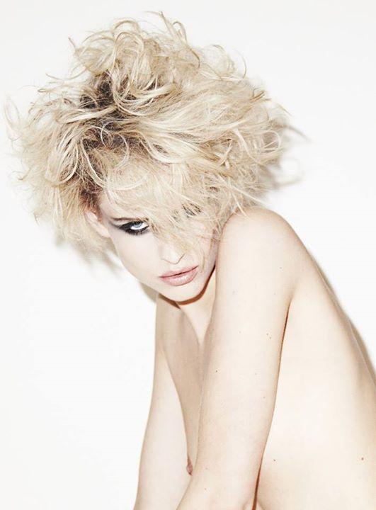 Elsa Jolie hair stylist (coiffeur). Work by hair stylist Elsa Jolie demonstrating Fashion Hair Styling.Fashion Hair Styling Photo #64340