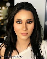 Enas Sadek makeup artist. Work by makeup artist Enas Sadek demonstrating Beauty Makeup.Beauty Makeup Photo #200696