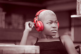 Eric Kabuthia photographer. Work by photographer Eric Kabuthia demonstrating Advertising Photography.Pioneer Sound photo-shoot for the headphones!Advertising Photography Photo #215247