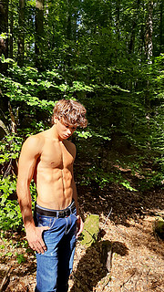 Eric Welter model (modello). Photoshoot of model Eric Welter demonstrating Body Modeling.Body Modeling Photo #228319