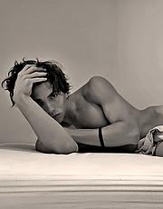 Eric Welter model (modello). Photoshoot of model Eric Welter demonstrating Fashion Modeling.Fashion Modeling Photo #222967