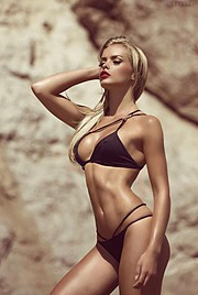 Erica Chloe model. Photoshoot of model Erica Chloe demonstrating Body Modeling.SwimwearBody Modeling Photo #150792