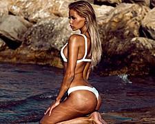 Erica Chloe model. Photoshoot of model Erica Chloe demonstrating Body Modeling.Body Modeling Photo #150798