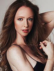 Erika Lucas model. Photoshoot of model Erika Lucas demonstrating Face Modeling.Face Modeling Photo #145150