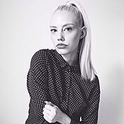Erika Myrvik model. Photoshoot of model Erika Myrvik demonstrating Face Modeling.Face Modeling Photo #118076